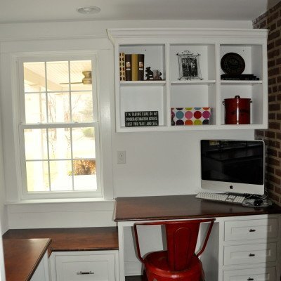 Maximizing Space {Playhouse Under the Stairs + Office}