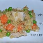 One Pot Wonder – Chicken and Quinoa