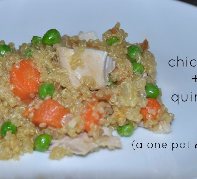 One Pot Wonder – Chicken and Quinoa