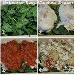 Delicious and Easy Chicken Dinner {Recipe}