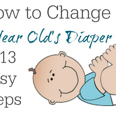 How to Change a 1 Year Old's Diaper in 13 Easy Steps