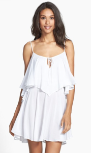 elan strappy flutter tier dress
