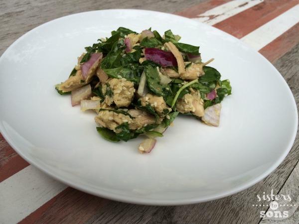 sesamechickensalad