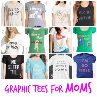 Graphic Tees for Moms