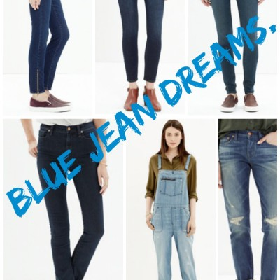 Blue Jean Dreams with Madewell #DENIMMADEWELL {guest post}