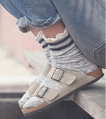 Salute Your Socks with Sandals