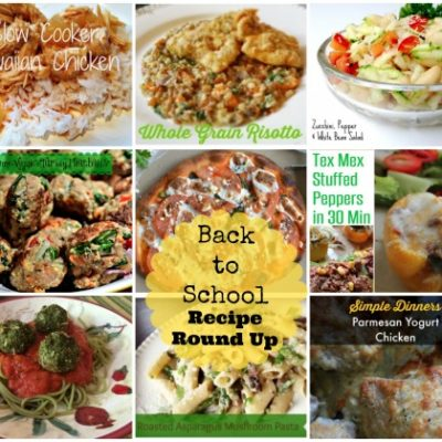 Back-to-School Dinner Recipe Round-Up