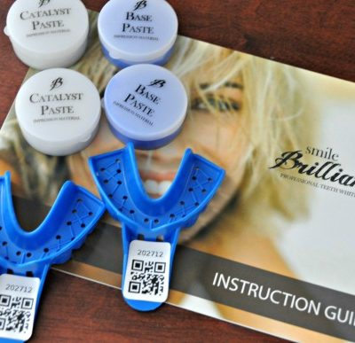 Smile Brilliant Custom Teeth Whitening Trays {Giveaway!!}