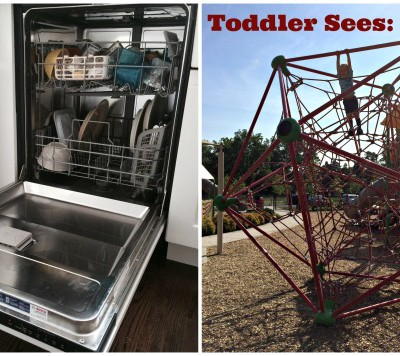 10 Things You Can't Do with a Toddler