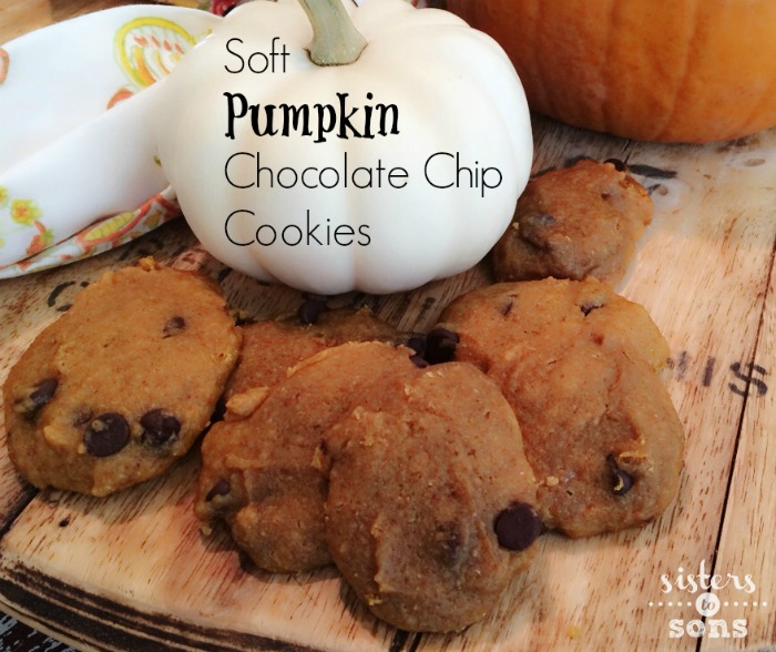 Squishy Chocolate Chip Cookies : Soft Pumpkin Chocolate Chip Cookies - The Motherchic