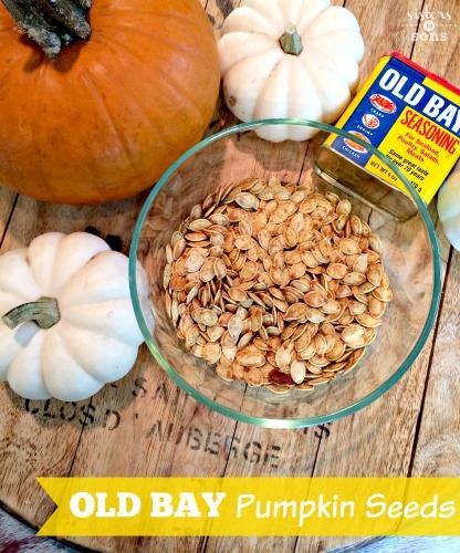 old bay pumpkin seeds