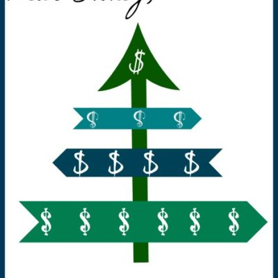 So about that holiday season credit card bill…..(and a printable!)