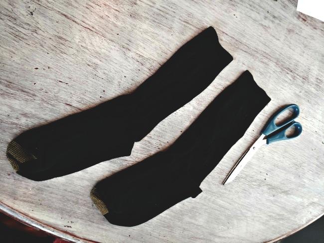 fringe socks