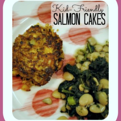 Kid-Friendly Salmon Cakes and Weekly Meal Plan