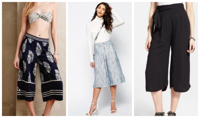 spring trends culottes