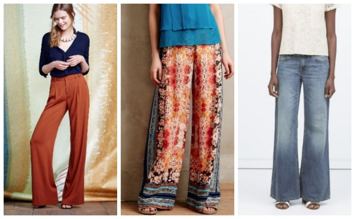spring trends wide leg