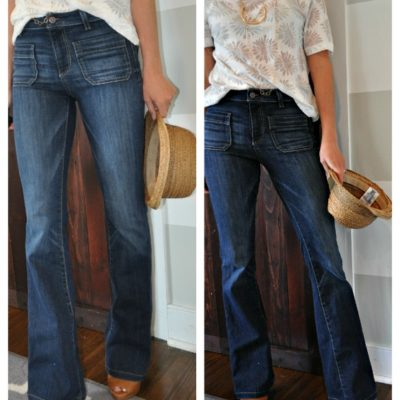 How to Wear High Waist Jeans