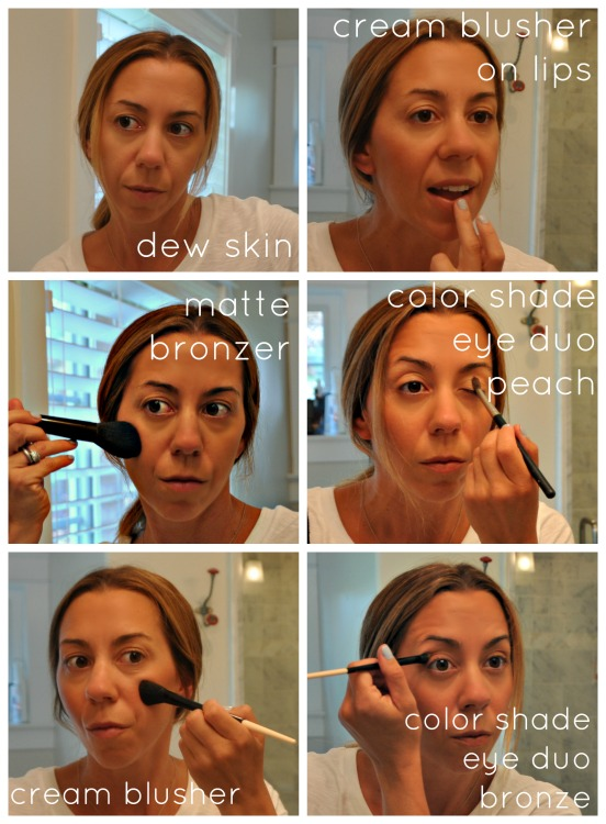 au natural make up with beauty counter