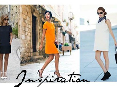 How to Style a Shift Dress