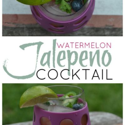 Watermelon Jalepeno Cocktail