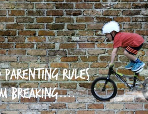10 parenting rules i'm breaking