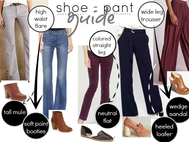 shoe pants combinations