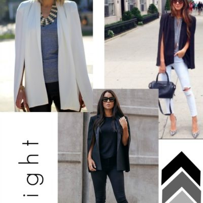 The Cape Blazer, An Unexpected Wardrobe Staple
