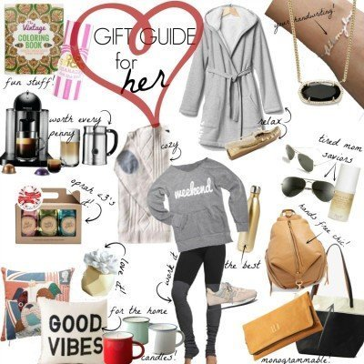 Gift Guide For Her (guys, pay attention)