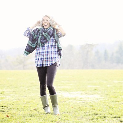Easy Outfit Formula: Plaid on Plaid