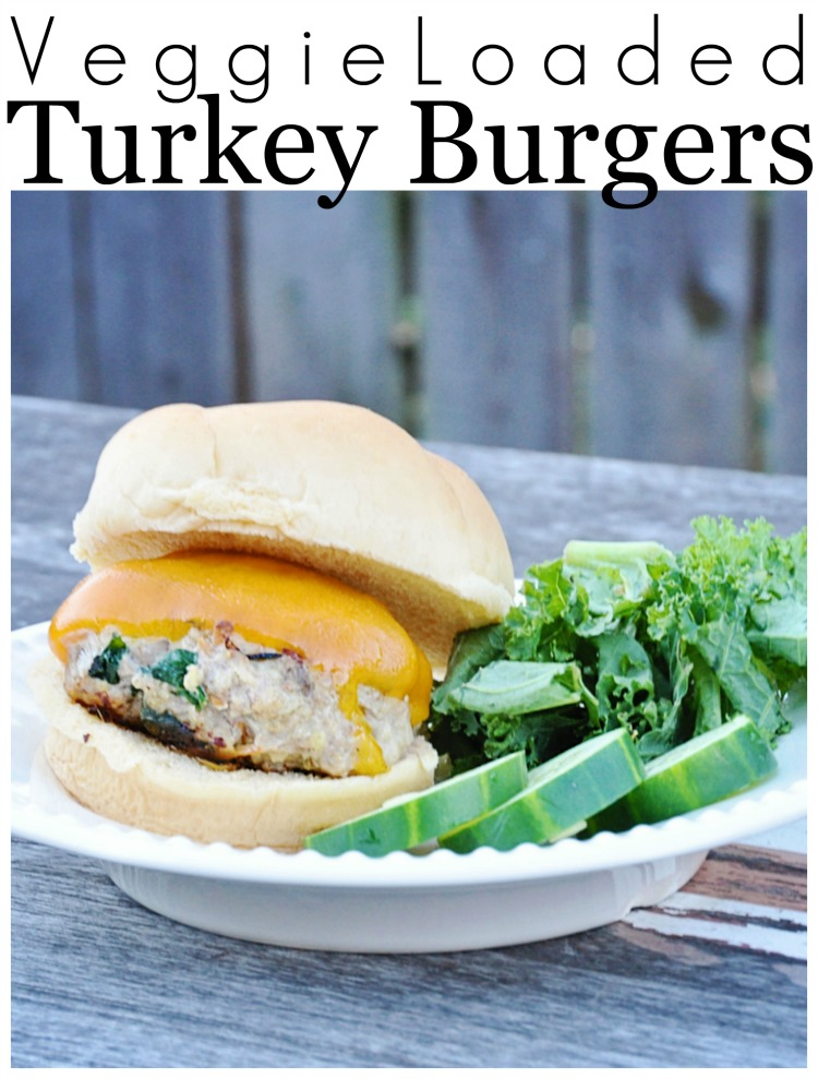 veggie loaded turkey burgers