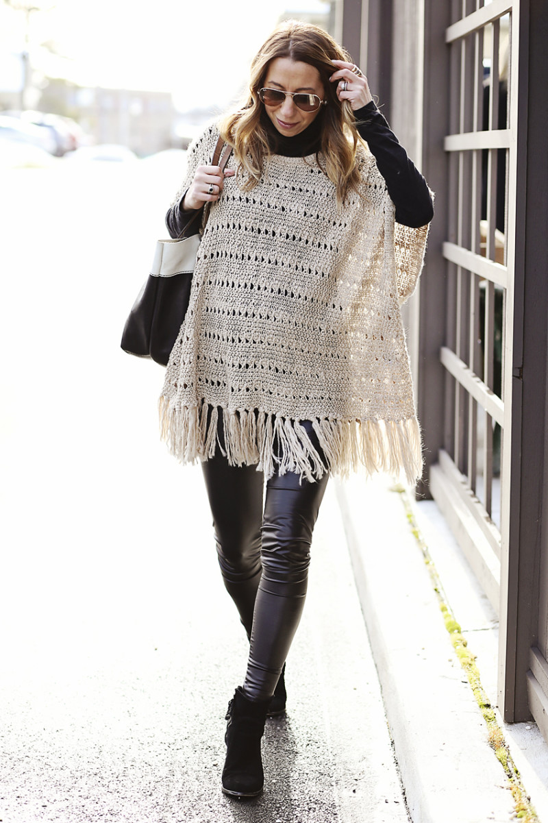 winter neutrals outfit idea