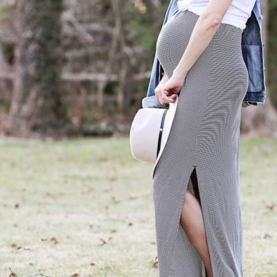 How to Style a Maxi Dress (hint: layers!)