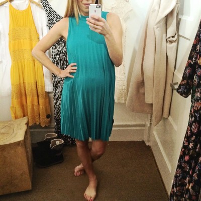 5 Anthropologie Dresses You Can Wear Pregnant (plus an awesome top too!)