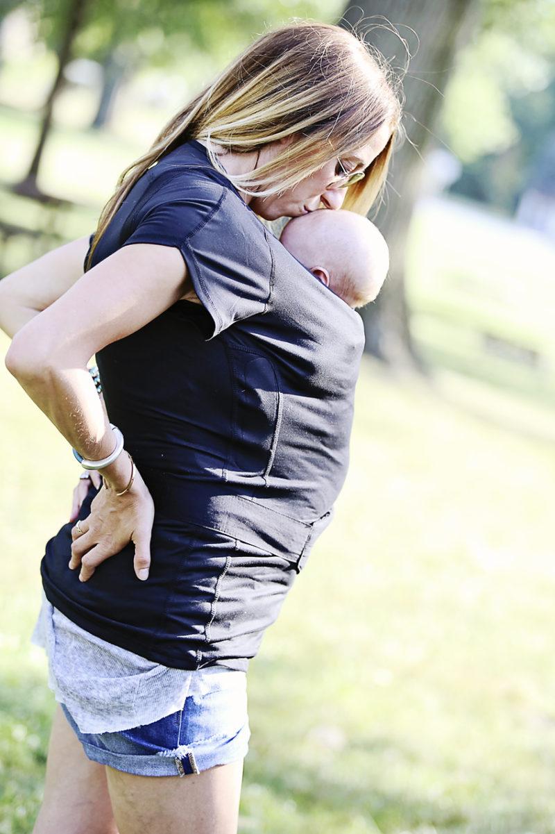 nuroo baby infant pocket skin to skin