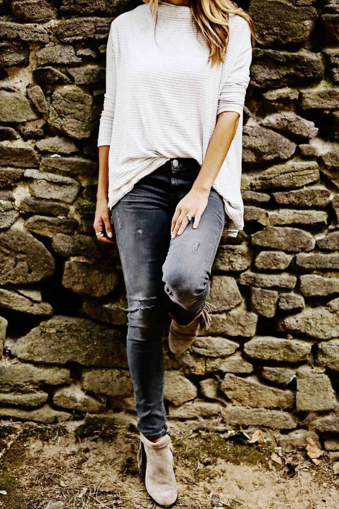 monotone fall outfit