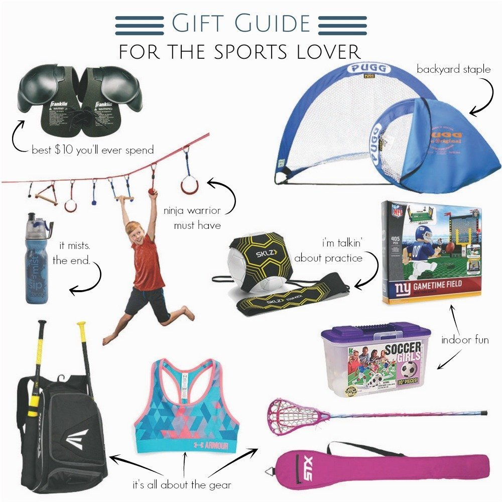 gift guide for the sports lover