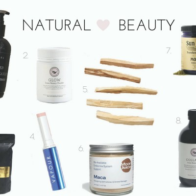 Favorite Natural Beauty Products