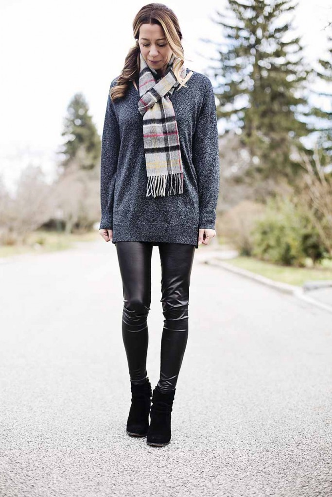 the motherchic wearing nordstrom sweater