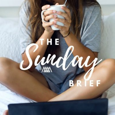 The Sunday Brief and a GIVEAWAY!