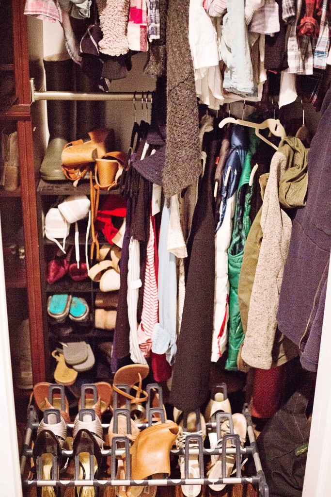 carrie's essential services closet decluttering