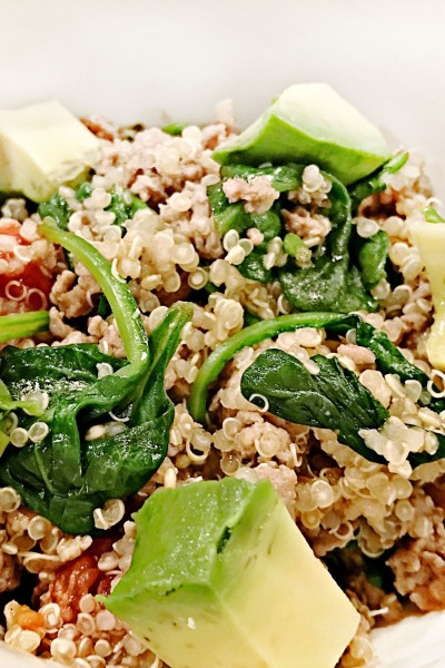 Turkey Quinoa Bowls