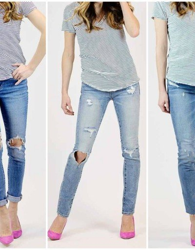 5 Favorite Distressed Jeans Under $100
