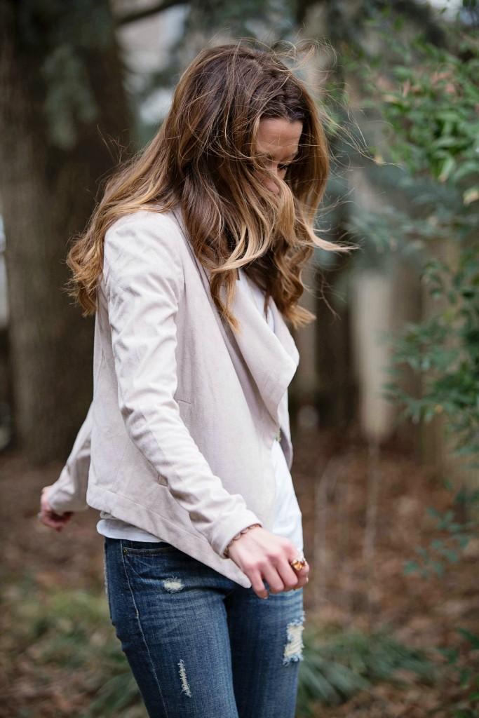 social threads blush jacket