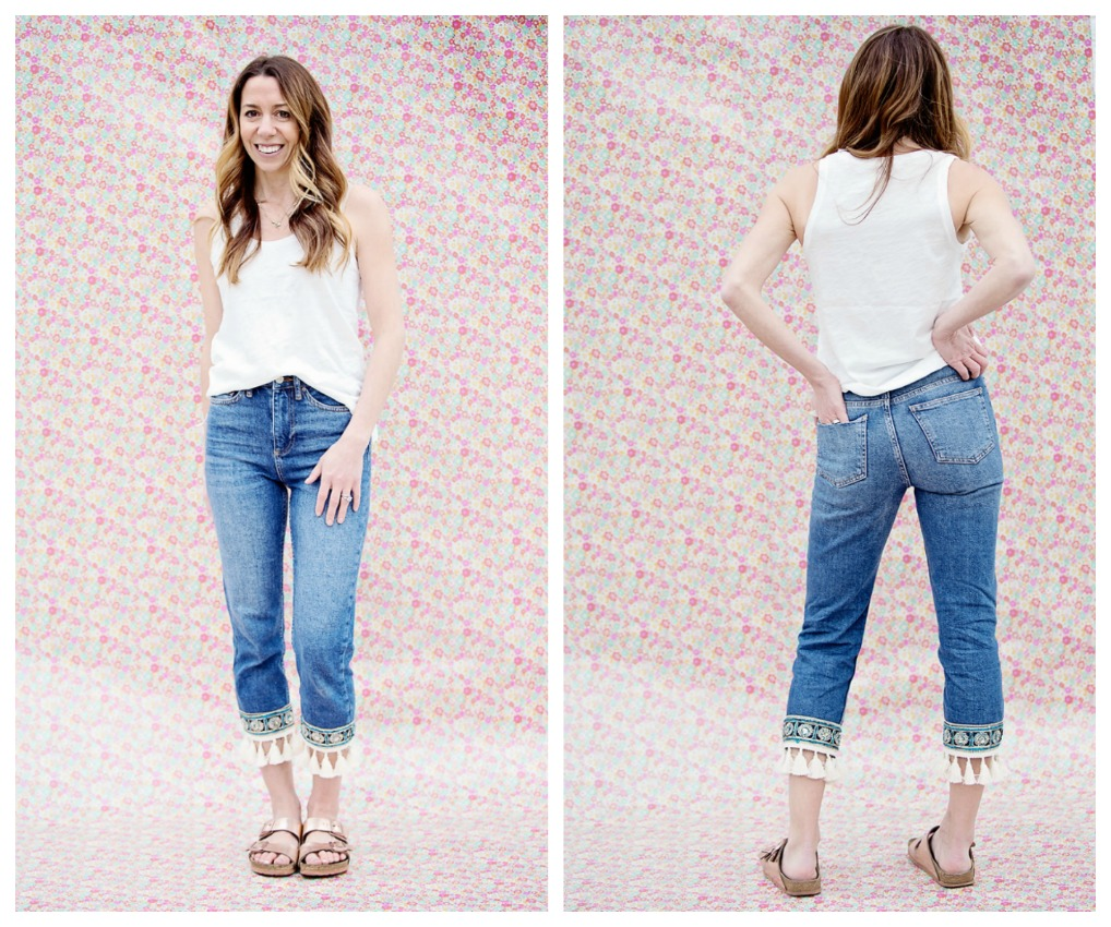 spring denim trends toyshop embellished jeans