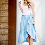 Now Trending: The Ruffle Wrap Skirt