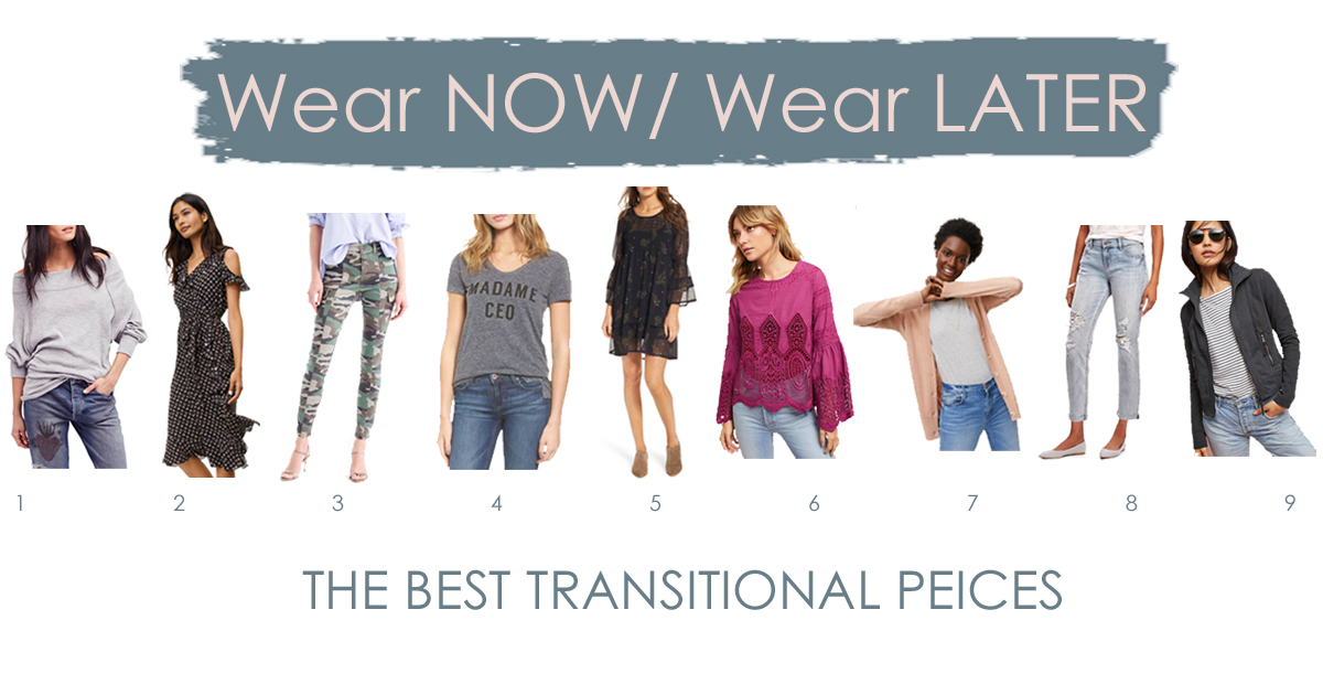 wear now wear later pieces