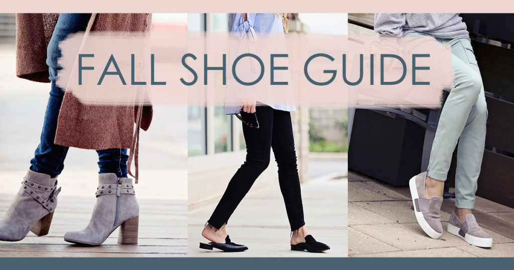fall shoe guide