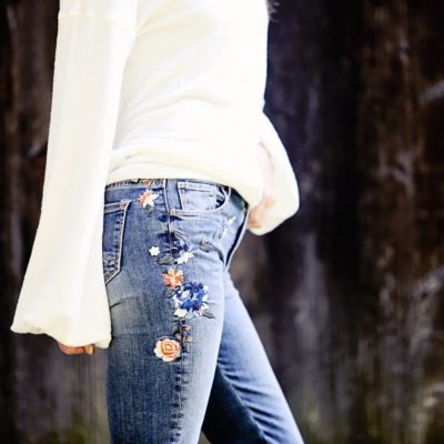Trend to Try: Embroidered Denim