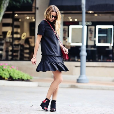 The Ruffle Shift Dress: Classics with a Twist