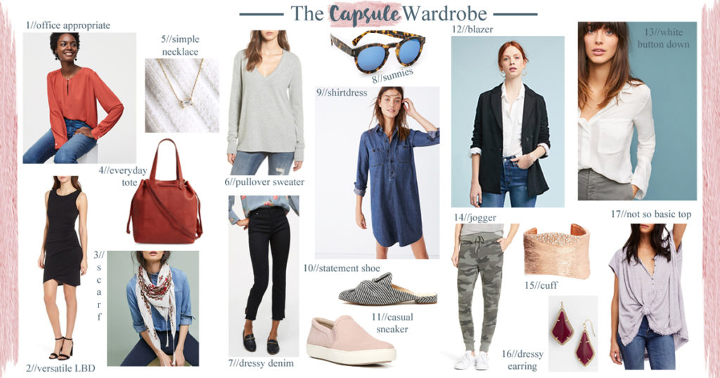 The Motherchic Capsule Wardrobe